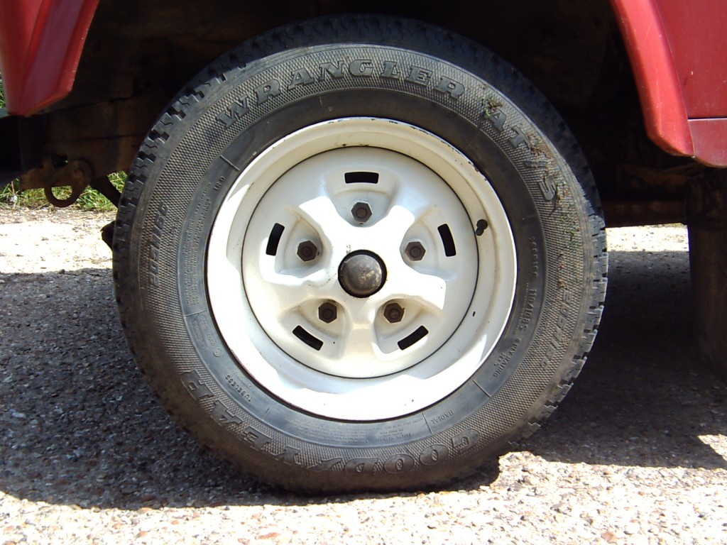 Land Rover Rostyle Wheel