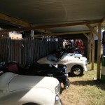 Austin J40 paddock