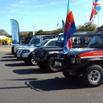 Help For Heroes Rally stand