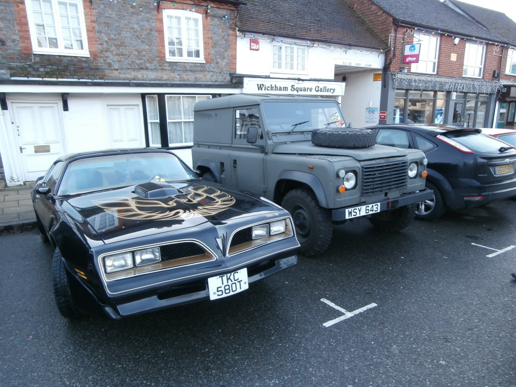 TransAm and Land Rover