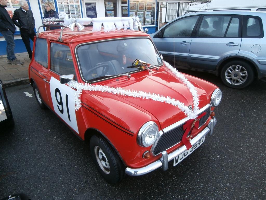 Festive Leyland Mini