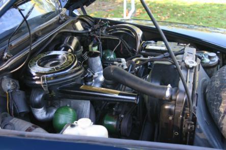 Citroen DS engine