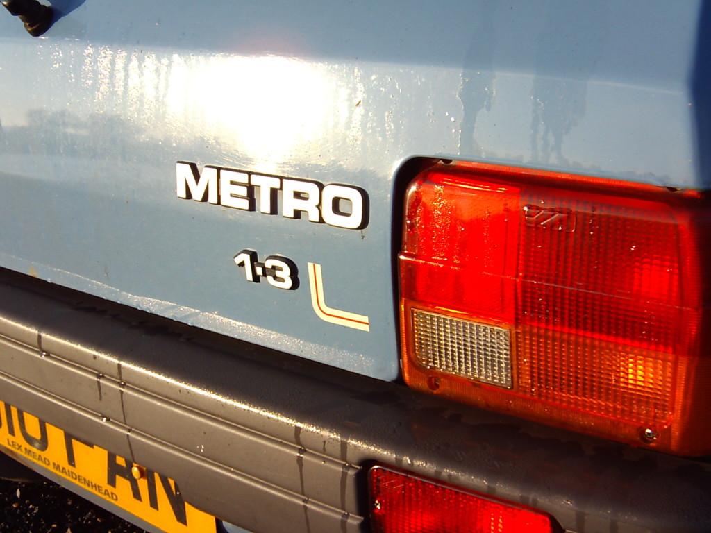 Metro 1.3L