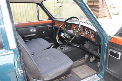 Triumph Toledo interior