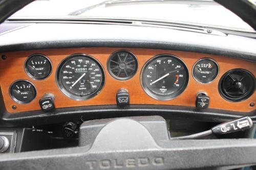 Triumph Toledo dashboard
