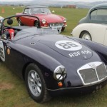 This MGA is clearly used to less sedate days out. Nice to see.