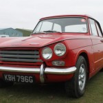 Can't go wrong with a Triumph Vitesse in red on Minilites.