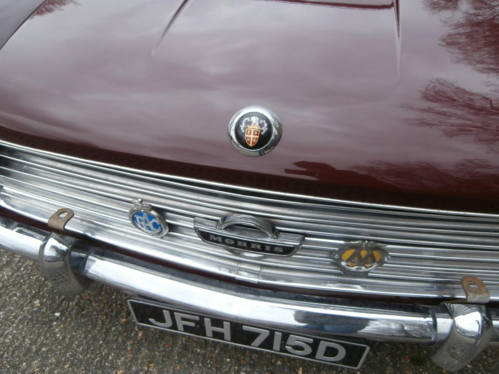 Austin and Morris badges