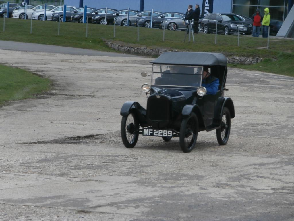 An Austin Seven Chummy. How can such a  small car make so much noise?