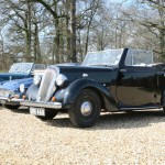 The Standard Twelve Drophead, ready for action.