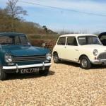 Triumph Herald and Morris Mini Minor