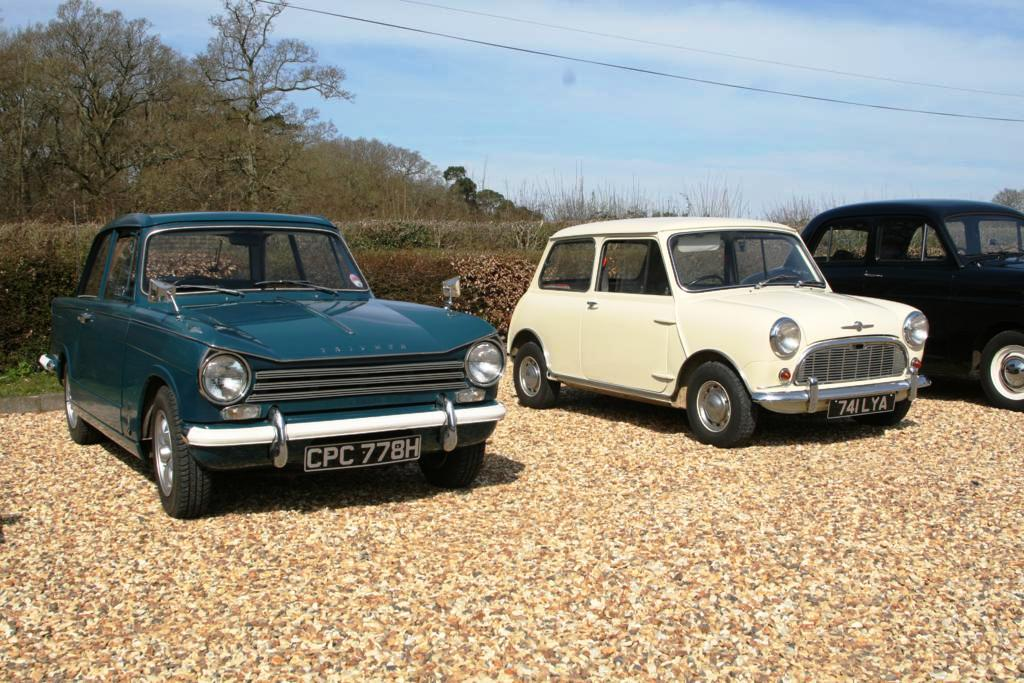 Triumph Herald and Morris Mini Minor