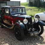 A pre-war Riley with a decent 'prow' front end.