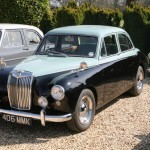 Seen this MG Magnette before, somewhere...