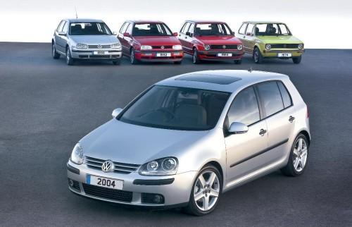 VW Golfs