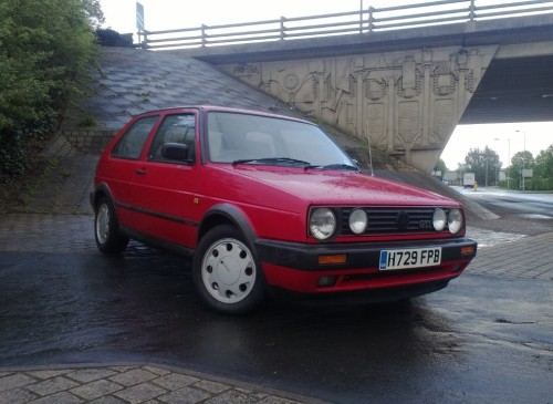 Golf GTI Heading Shot