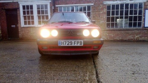 Golf GTI (w. headlamps)